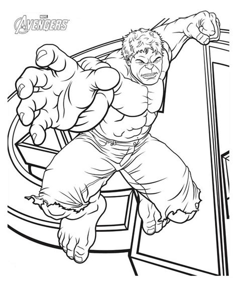 printable avengers coloring pages printable incredible