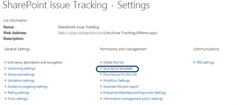 Sharepoint Issue Tracking Template by Sharepoint Enterprise Moving My Issue Tracking List From