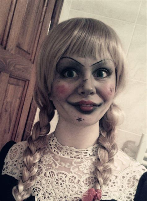 annabelle doll makeup annabelle from the conjuring annabelle disguise the