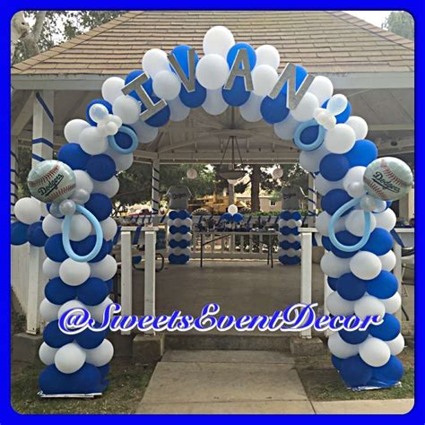 Dodger Decorations by Dodgers Baseball Baby Shower Ideas Photo 1 Of 11 Catch