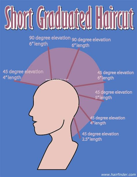 how to cut a layered bob haircut diagram 17 best ideas about graduated haircut on pinterest long