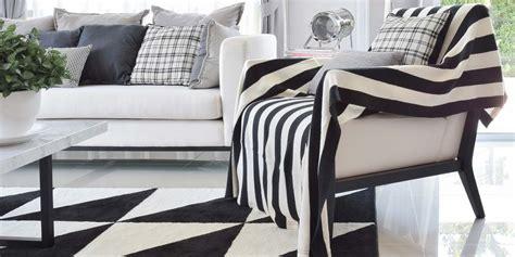 teppiche kombinieren teppiche in schwarz wei 223 ein kontrastprogramm