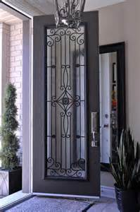 glass insert for front door for the home