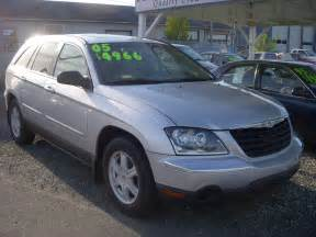 Value Of 2005 Chrysler Pacifica 2005 Chrysler Pacifica Pictures Cargurus