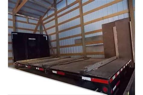 Truck Bed Stake Pocket Rack by Dierzen 98 In X 18 Ft Steel Deck Flat Bed Truck