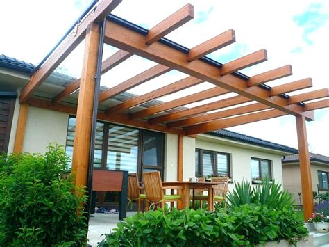 pergola designs attached to house backyard pergola