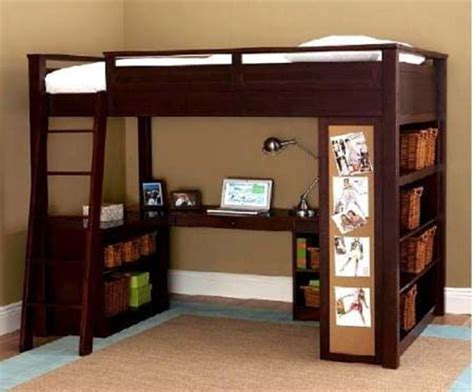 Desk Beds For Adults by 17 Best Ideas About Bunk Bed Desk On Bunk Bed