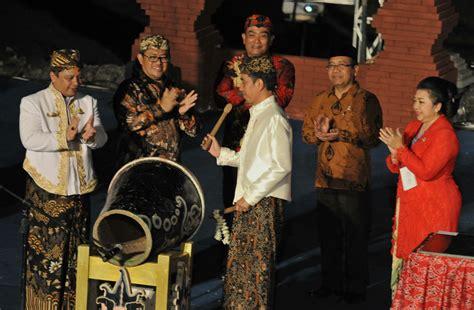 Yoko Pemangku presiden jokowi minta aset budaya keraton dirawat dengan