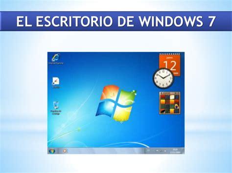temas de escritorio windows 7 practica docente escritorio de windows 7