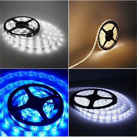 1m 3m 5m 3528 60leds M Roll Self Adhesive Tape Waterproof 3m Led Light Strips