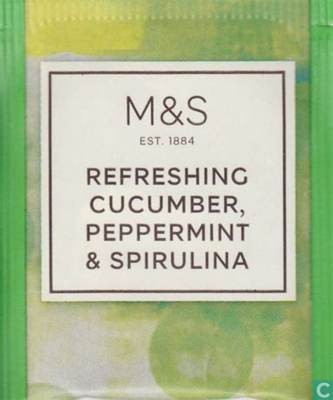 Detox Tea Bags Marks And Spencer by Refreshing Cucumber Peppermint Spirulina Marks