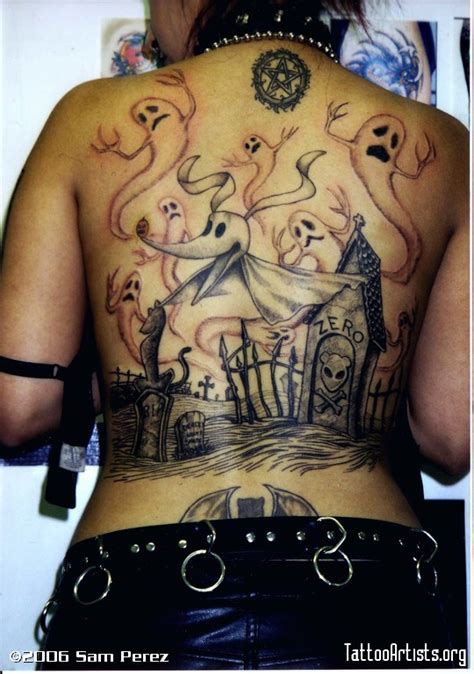 tattoo nightmares back in the saddle back tattoos of nightmare before christmas nightmare