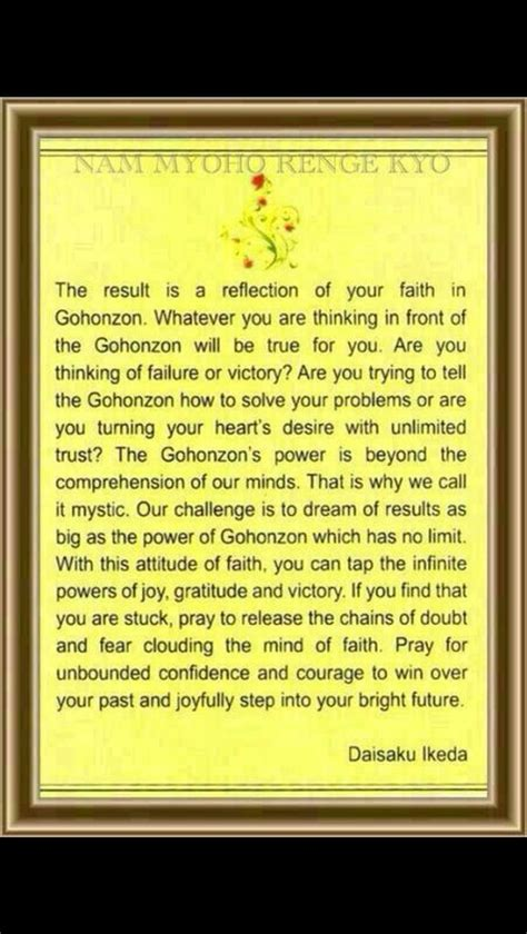 Muster Your Faith And Pray To The Gohonzon 52 Best Images About Buddhism On Cause And