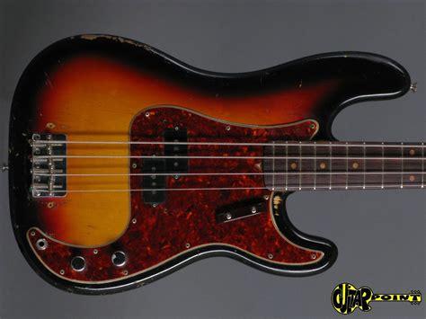 Fender Precission fender precision p bass 1963 3 tone sunburst bass for sale