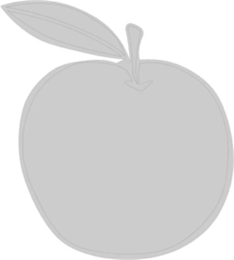 Original Moc Charlez Grey gray apple png svg clip for web clip png icon arts