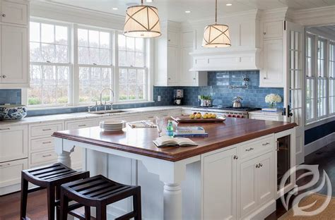 blue kitchen white cabinets blue subway tile kitchen backsplash roselawnlutheran