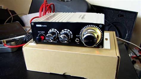 Hi Fi Stereo Lifier Speaker 2 Channel 20w mini car lifier blitzwolf 20w 2 channel 12v hi fi audio stereo