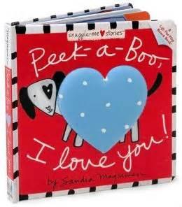 Peek A Booklove peek a boo i you snuggle me stories series by magsamen 9780316003896 board