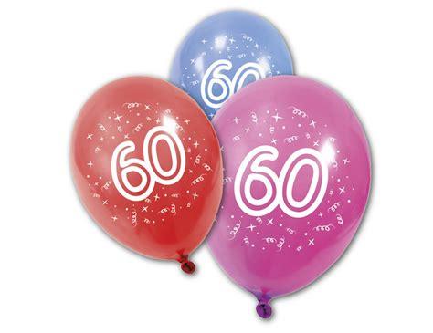 Hochzeit 60 Jahre by 8 Luftballons 60 Jahre Partydeko Und G 252 Nstige