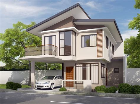 100 Sq Meters House Design Three Bedroom Residential House And Lot In Talisay City
