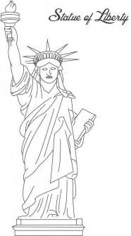 statue of liberty color free printable statue of liberty coloring pages for