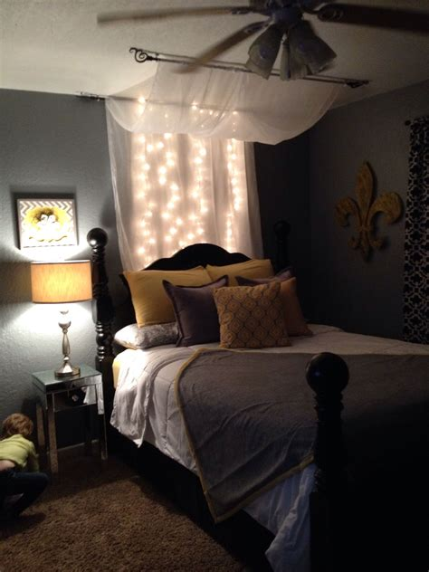 Grey Yellow And Black Bedroom by Black Yellow And Grey Bedroom Home Sweet Home