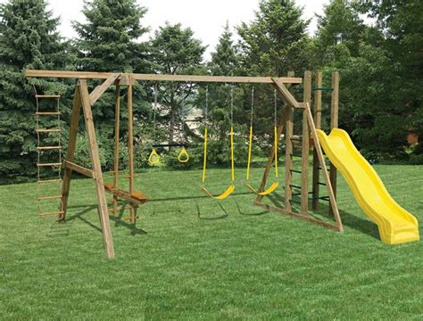 how to build a wood swing set wooden swing sets assembly included wooden swing sets