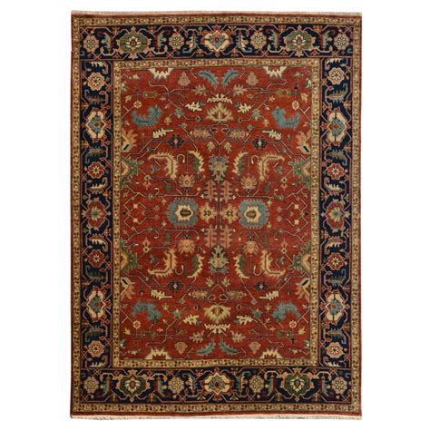 8 wool rug size 8 00 quot x 10 00 quot heriz wool rug from india