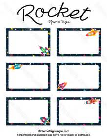 rocket name tags printable free printable rocket name tags the template can also be