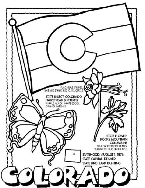 crayola coloring pages states colorado crayola com au
