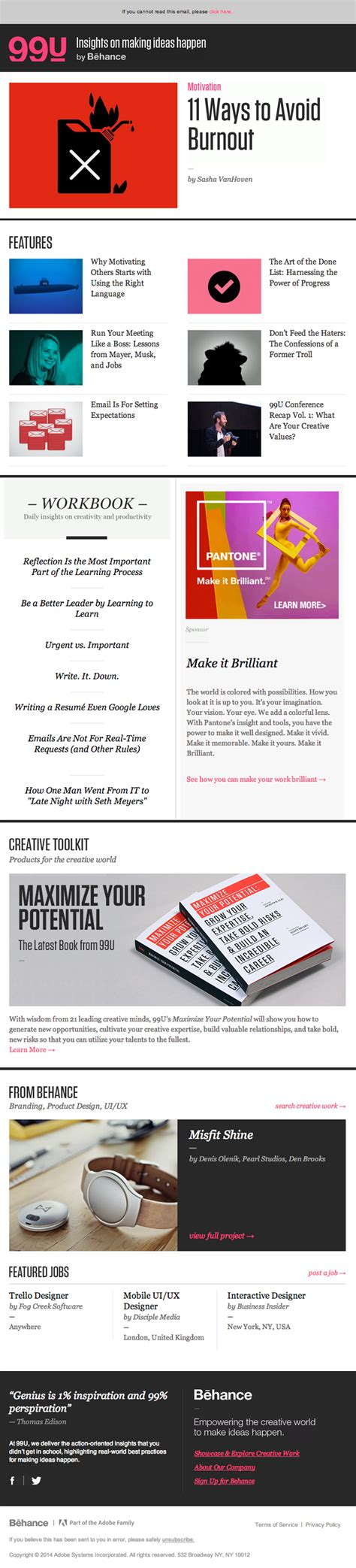 email newsletter layout email newsletter design from behance really good emails