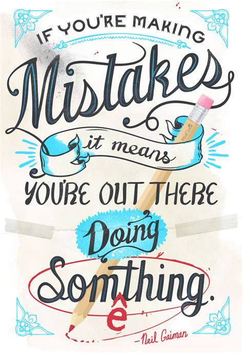 s day mistakes quote of the day neil gaiman on mistakes
