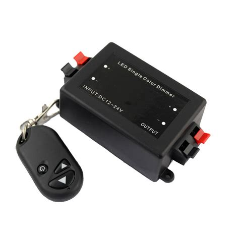 Led Dimmer by Single Channel Rf Led Dimmer 12v 24v 8a Wireless Remote