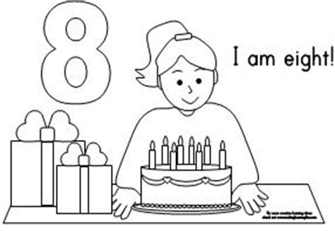 birthday coloring pages for 4 year olds fun learning printables for kids