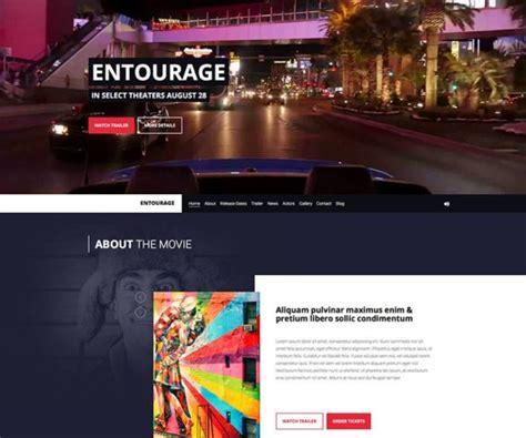 theme music entourage premium video wordpress themes wpexplorer