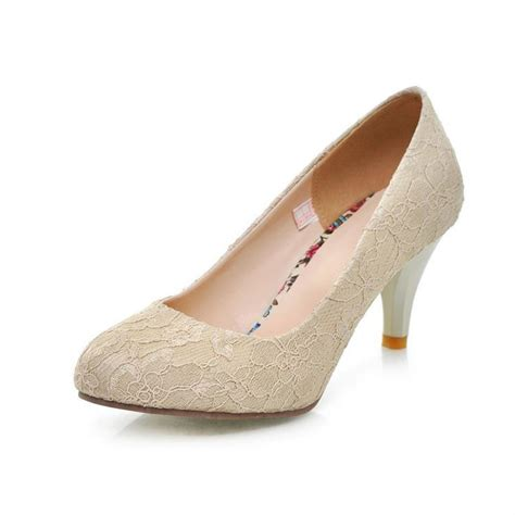 size 30 shoes toe medium height lace wedding shoes for