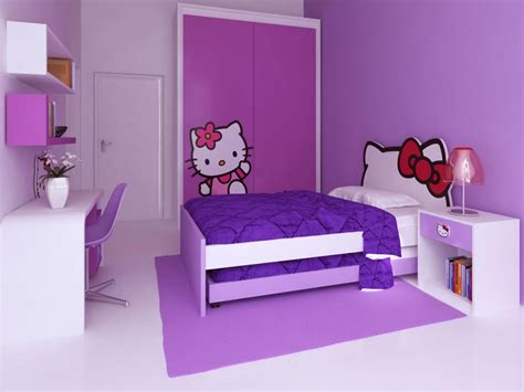 Violet Hello Kitty Bedroom Hello Kitty Twin Bed Frame Hello Bed Frame
