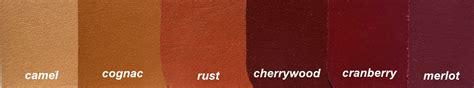 cognac color color comparison for camel cognac rust cherrywood