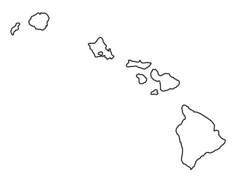 printable hawaiian stencils hawaii pattern use the printable outline for crafts