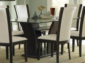 glass dining room table sets dining room glass dining room table set and design