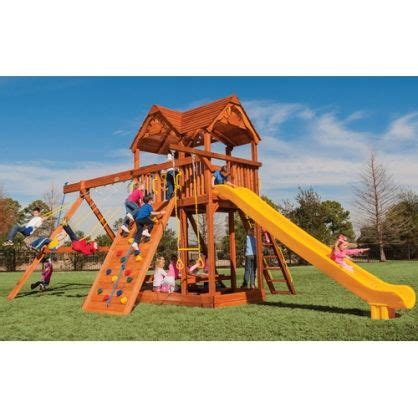 best wooden swing set under 1000 1000 images about playsets on pinterest best swing sets