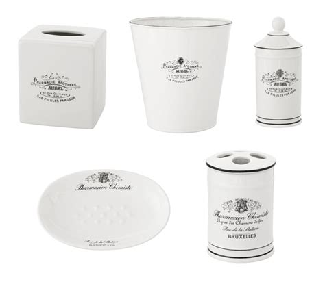 Apothecary Bathroom Accessories Pottery Barn Apothecary Bath Accessories Hi Ny Design By Iku Oyamada And Watanabe