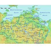 Mecklenburg Vorpommern Karte Bundesl&228nder  Landkarte Deutschland
