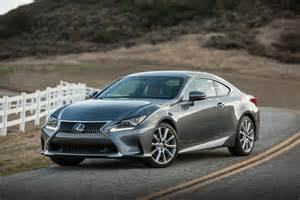 2016 lexus rc features review the car connection