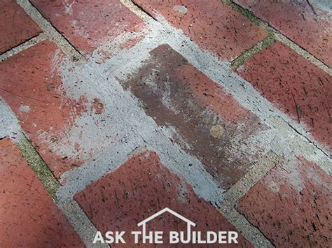 How To Clean Fireplace Brick And Mortar by How To Remove Brick Mortar Ask The Builder