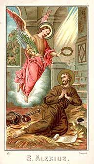 san alejo el hombre de dios patrono de los mendigos y enfermos bitacora del alma 07 17 10