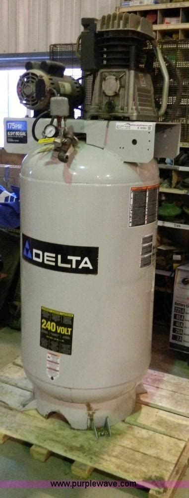 delta  gallon air compressor item  sold march