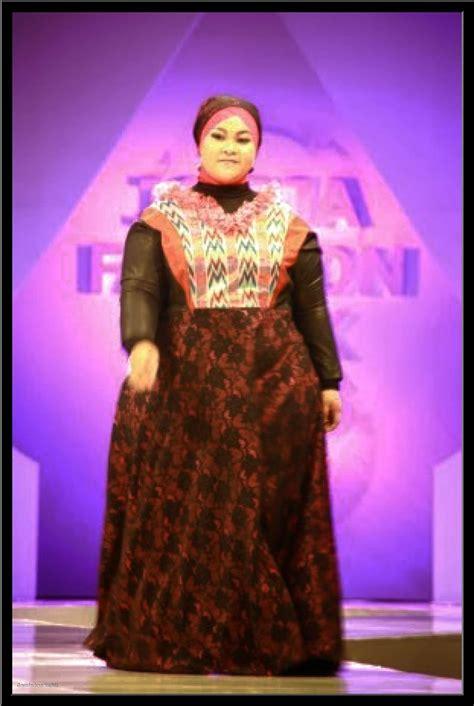Baju Muslim Lebaran Wanita 10 model baju lebaran untuk wanita muslim gemuk