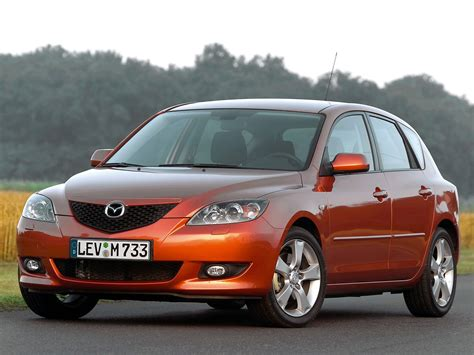 what kind of car is a mazda mazda 3 axela hatchback specs 2004 2005 2006 2007