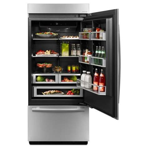 right hand swing microwave jb36nxfxre jenn air 174 36 fully integrated built in